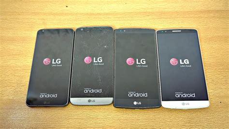 LG G6 vs LG G5 vs LG G4 vs LG G3   Speed Test!  4K    YouTube