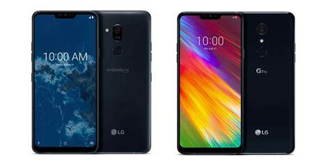 LG G7 One и LG G7 Fit – корейские новинки на IFA