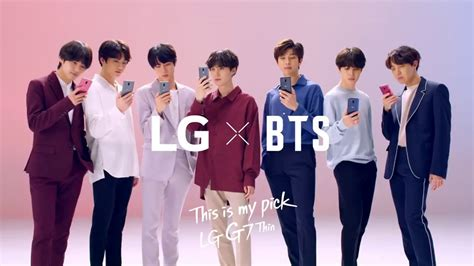 LG G7 ThinQ X BTS — Official TVC  30s    YouTube