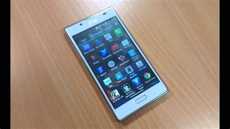 LG Optimus L7 features specs overview - YouTube