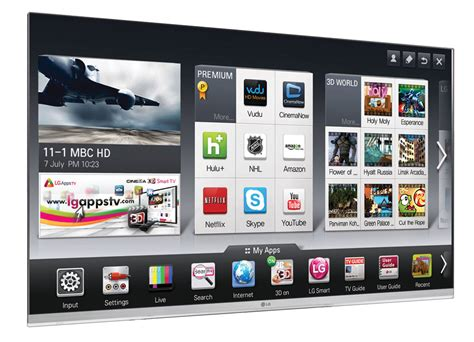 LG's 2012 Smart TV with voice control & dual-core ...