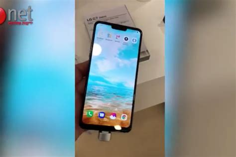LG showed off a phone called the G7 at Mobile World ...