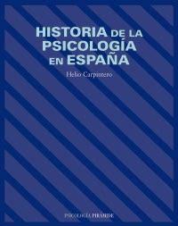 Librería Dykinson   Historia de la psicología en España ...
