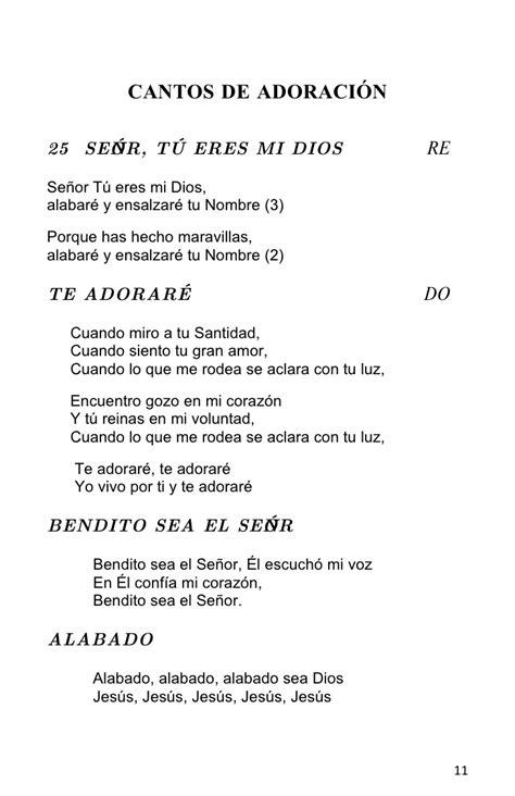 Librito de Cantos