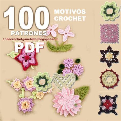 Libro con 100 motivos patrones ganchillo para descargar ...