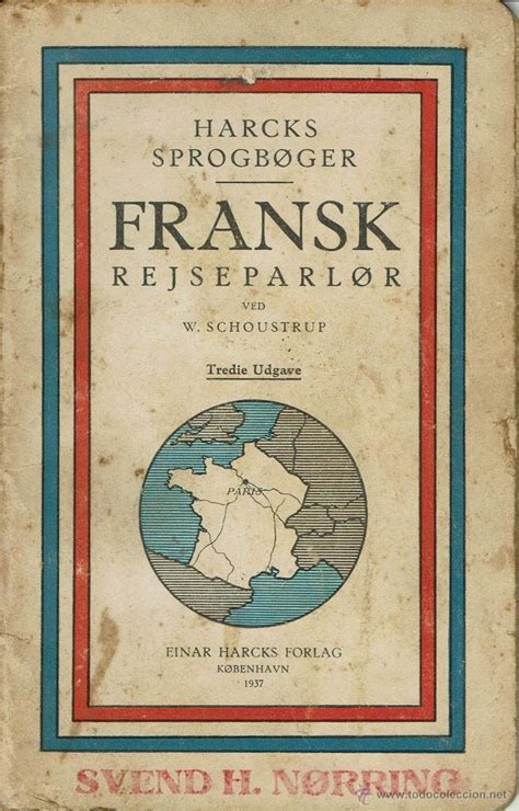 libro danés de frases en francés. harcks sprogb   Comprar ...