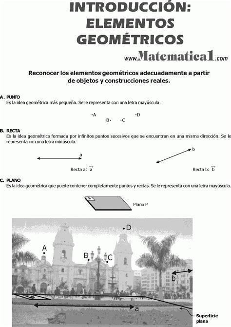 LIBRO DE GEOMETRIA BASICA DE PRIMERO DE SECUNDARIA ...