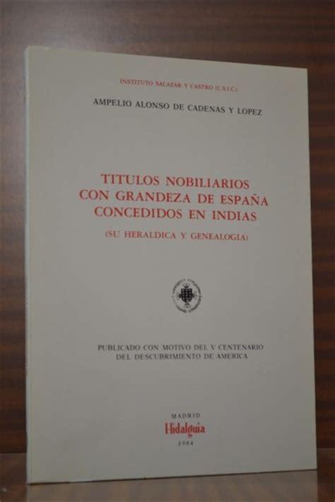 Libros de heraldica