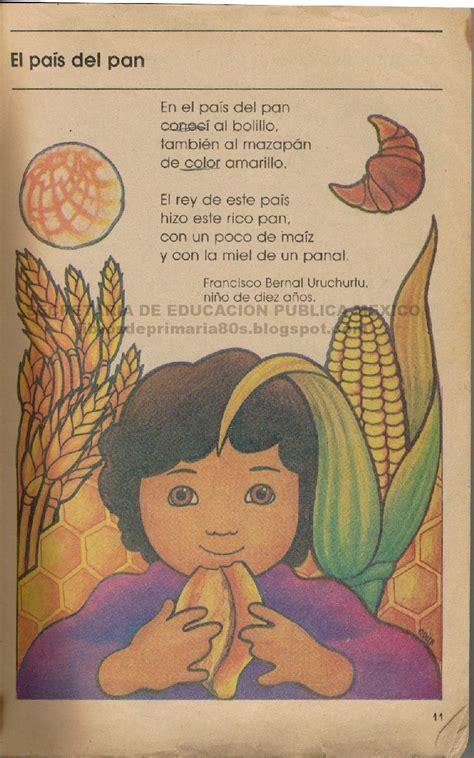 Libros de Primaria de los 80's: El país del pan (Mi libro ...