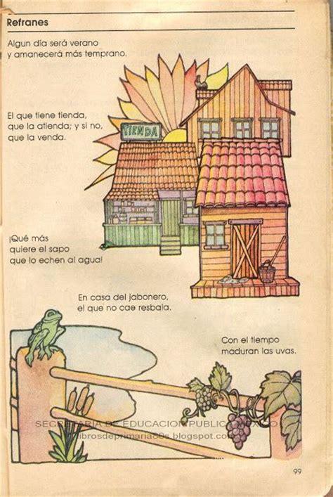 Libros de Primaria de los 80's: Refranes - Español ...