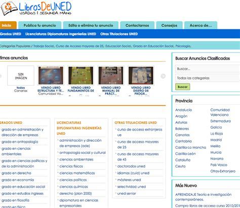 LibrosDeUNED.es | ideaWeb Diseño paginas web Madrid ...