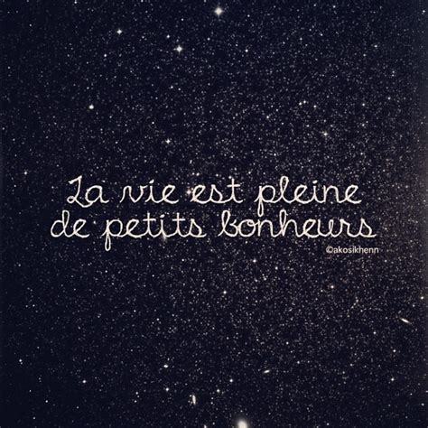Life is full of little pleasures #french #quotes ...