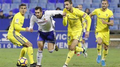 Liga 123: Cádiz vs Zaragoza: Horario y dónde ver en TV en ...