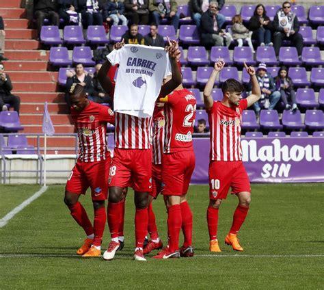Liga 123: Primera remontada del Valladolid para seguir ...