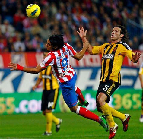 Liga BBVA - Atletico Madrid 3 - 1 Zaragoza. Fecha 11 ...