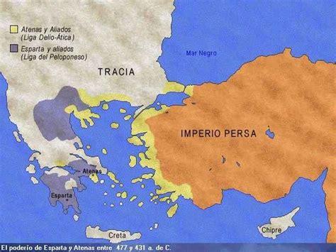 Liga de Delos y Liga del Peloponeso - Geohistoriantigua