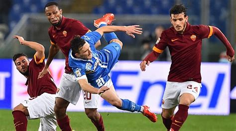 Liga italiana: La Roma se abona a las tablas   MARCA.com