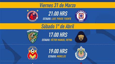 Liga MX: Fechas y horarios de la Jornada 12 del Clausura ...