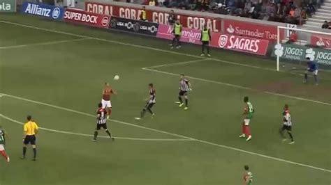 Liga Portuguesa: Cuatro toques sin que caiga, al larguero ...