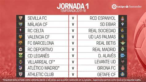 Liga Santander: Así vivimos el sorteo del calendario de ...