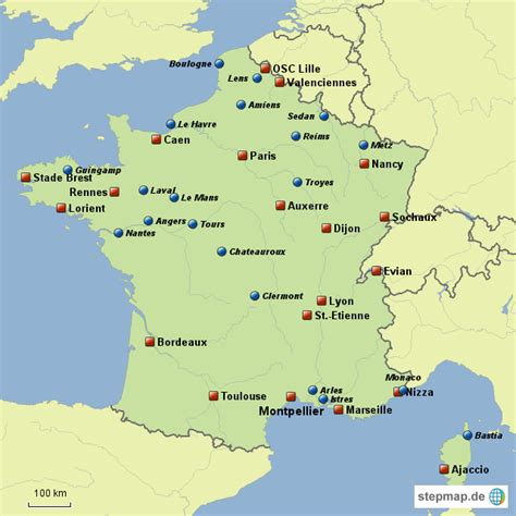 Ligue 2 Live Ticker, Fussball Frankreich   fahrradshop ...