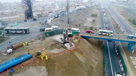Lima: Nuevos puentes de Arica y Quebrada se culminarán en ...