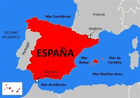 Límites de España | Saber es práctico