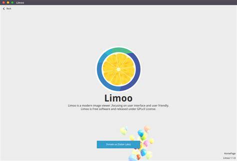 Limoo o un visor de imágenes con estilo - El atareao