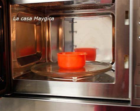 Limpiar el microondas a fondo   La Casa Maygica