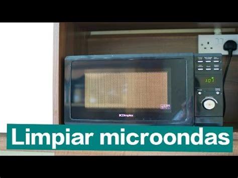 Limpiar y desinfectar el microondas ¡Muy fácil! | Doovi