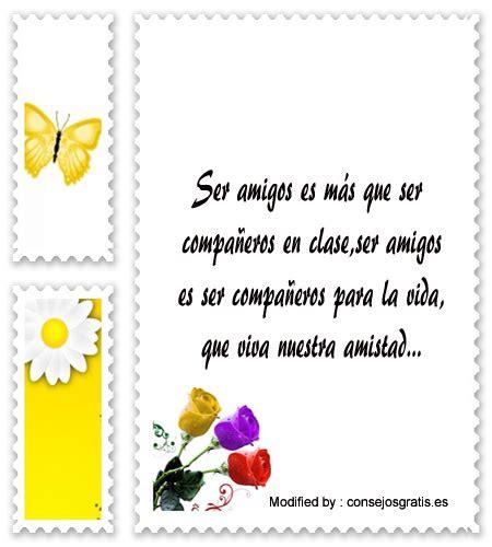 Lindas Frases De Amistad | Mensajes de amistad ...