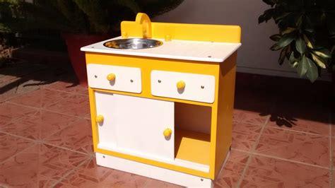 Lindo Mueble Lavaplatos De Madera Para Niñas Y Niños ...