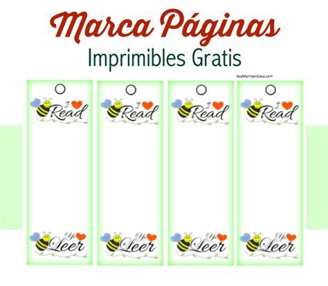 Lindos Marcapaginas para Imprimir #printables #imprimibles ...