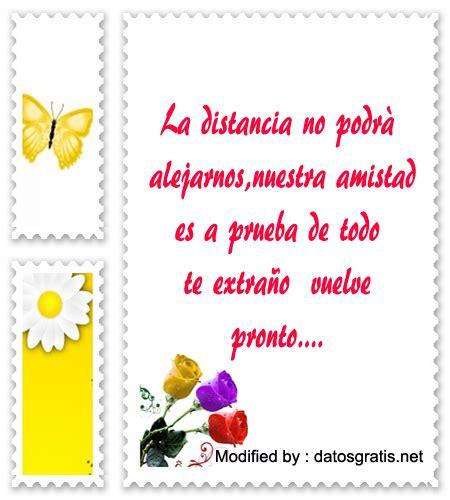 Lindos Mensajes De Amistad Para Amigos A La Distancia ...