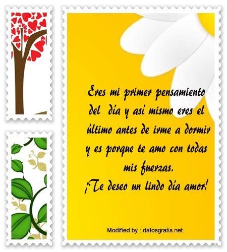 Lindos Mensajes De Buenos Días Para Mi Amor | Frases de ...