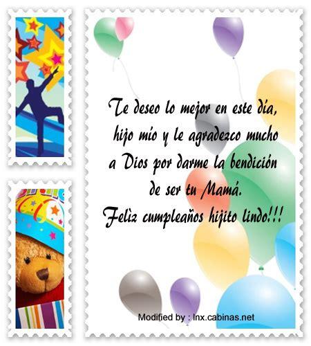 Lindos Mensajes De Cumpleaños Para Un Hijo | Saludos De ...