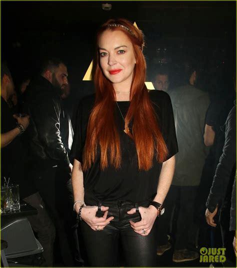 Lindsay Lohan Poses at Her LOHAN Nightclub in Greece ...