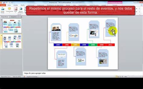 Línea de tiempo con PowerPoint   YouTube