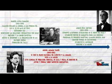 Línea del Tiempo   Presidentes de México   YouTube
