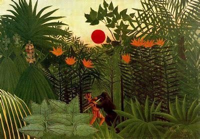Línea Serpentinata: Henri Rousseau, la alegría de pintar