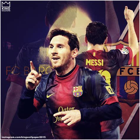 Lionel Messi - FC Barcelona - Instagram by Kingwallpaper ...