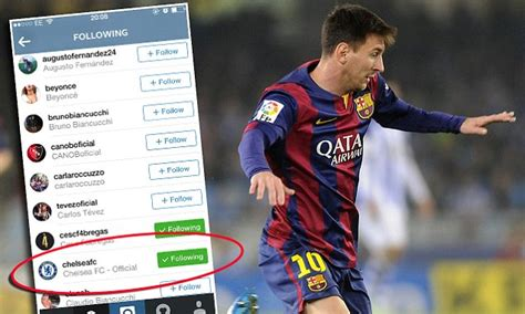 Lionel Messi fuels Barcelona exit talk by following ...