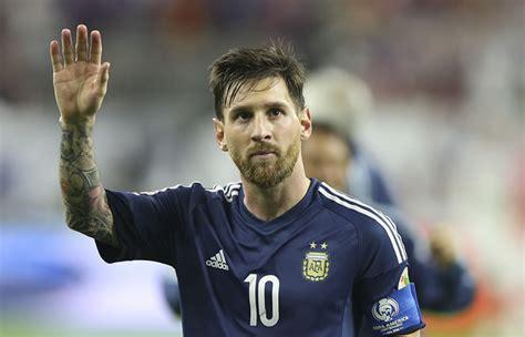 Lionel Messi seguirá en la selección Argentina - Fútbol ...