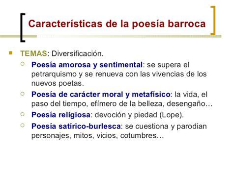 Lirica y Prosa Barroca 1º Bach