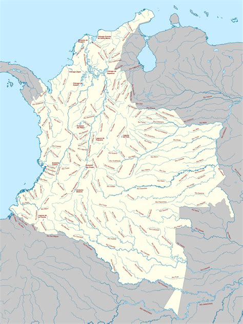 List of rivers of Colombia   Wikipedia