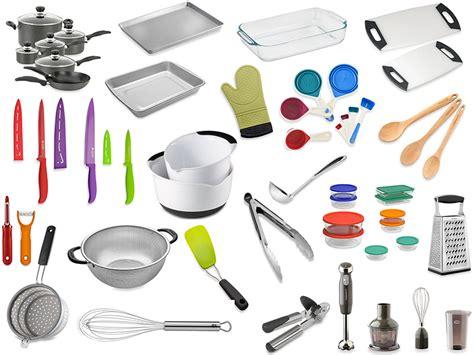Lista de compras para tu primera cocina