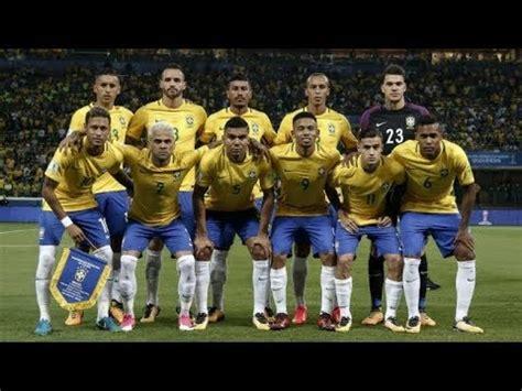 Lista de Convocados de Brasil para el Mundial 2018   YouTube