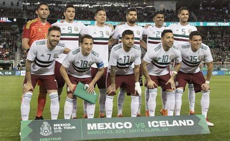 Lista de convocados de la Selección Mexicana para Rusia 2018