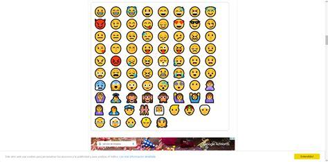 Lista de emoticonos e imágenes Emoji para copiar y pegar ...