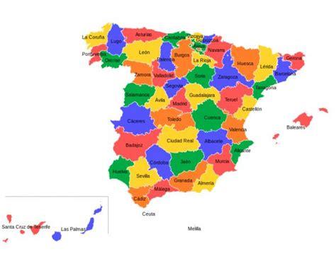 Lista de provincias de España - unComo